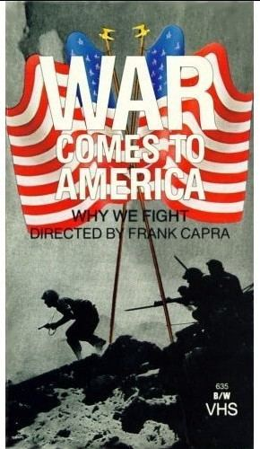 War Comes to America War Comes to America WWII Movies Liberty Lady