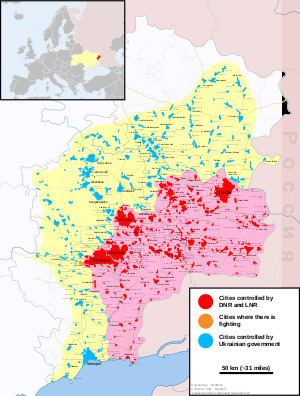 War in Donbass War in Donbass Wikipedia