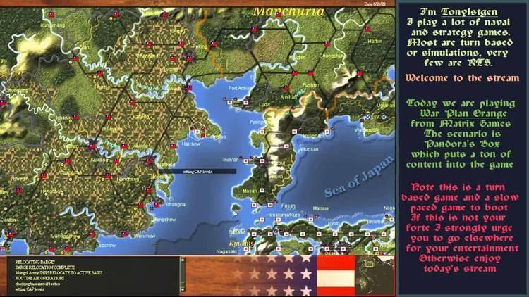 War Plan Orange Tony1stgen Playing War Plan Orange YouTube
