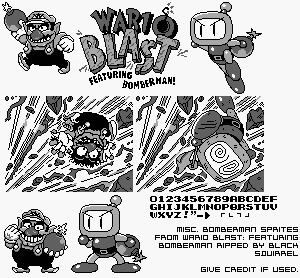 Wario Blast Game Boy GBC Wario Blast Featuring Bomberman Bomberman GB