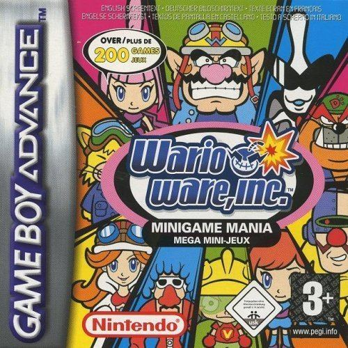 warioware inc mega party games iso