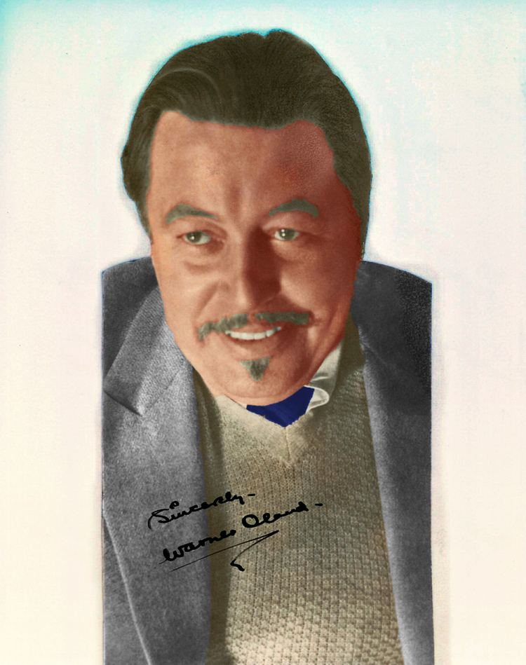 Warner Oland On the Set with Warner Oland OLD HOLLYWOOD IN COLOR