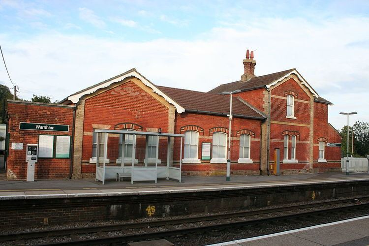 Warnham railway station