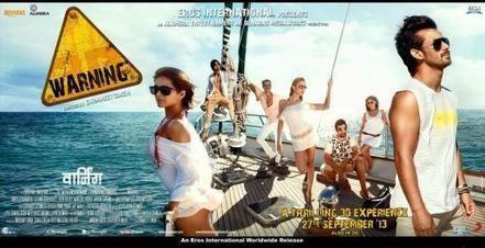 Warning (2013 film) movie poster