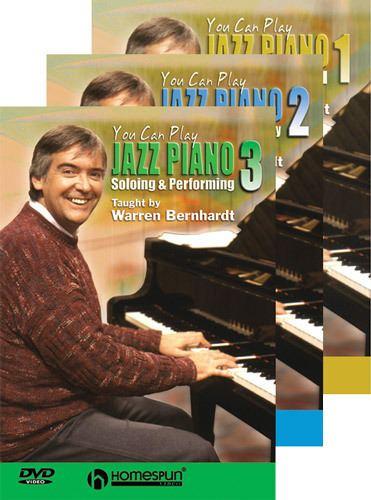 Warren Bernhardt Warren Bernhardt Teaches Jazz Piano Volume One Homespun