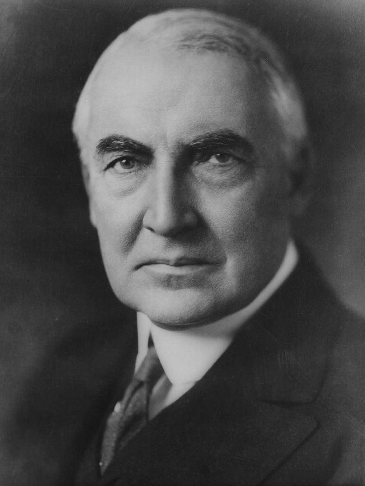 Warren G. Harding FileWarren G Harding portrait as senator June 1920jpg