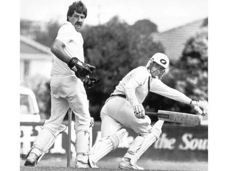 Warren Lees (Cricketer) playing cricket