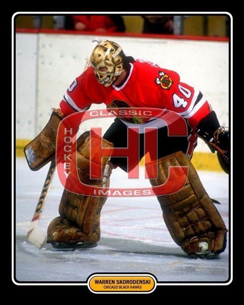 Warren Skorodenski Classic Hockey Images Photo Profile 8 x 10 Photo of