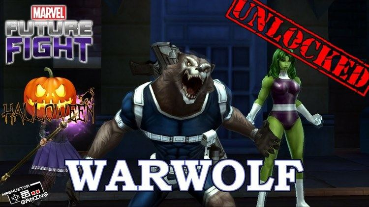Warwolf (Marvel Comics) MARVEL Future Fight Warwolf Unlocked YouTube