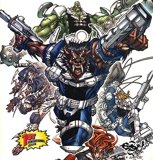 Warwolf (Marvel Comics) Warwolf Howling Commandos member