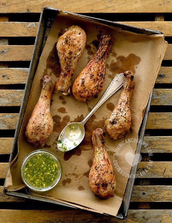 Wasakaka Pollo con Wasakaka Recipe Dominican Roasted Chicken Garlic Sauce