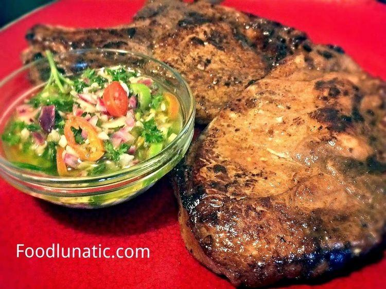 Wasakaka Food Lunatic Pan Fried Pork Chops with Wasakaka Sauce
