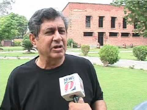 An exclusive talk with Wasim Bari soon after Pakistan win against