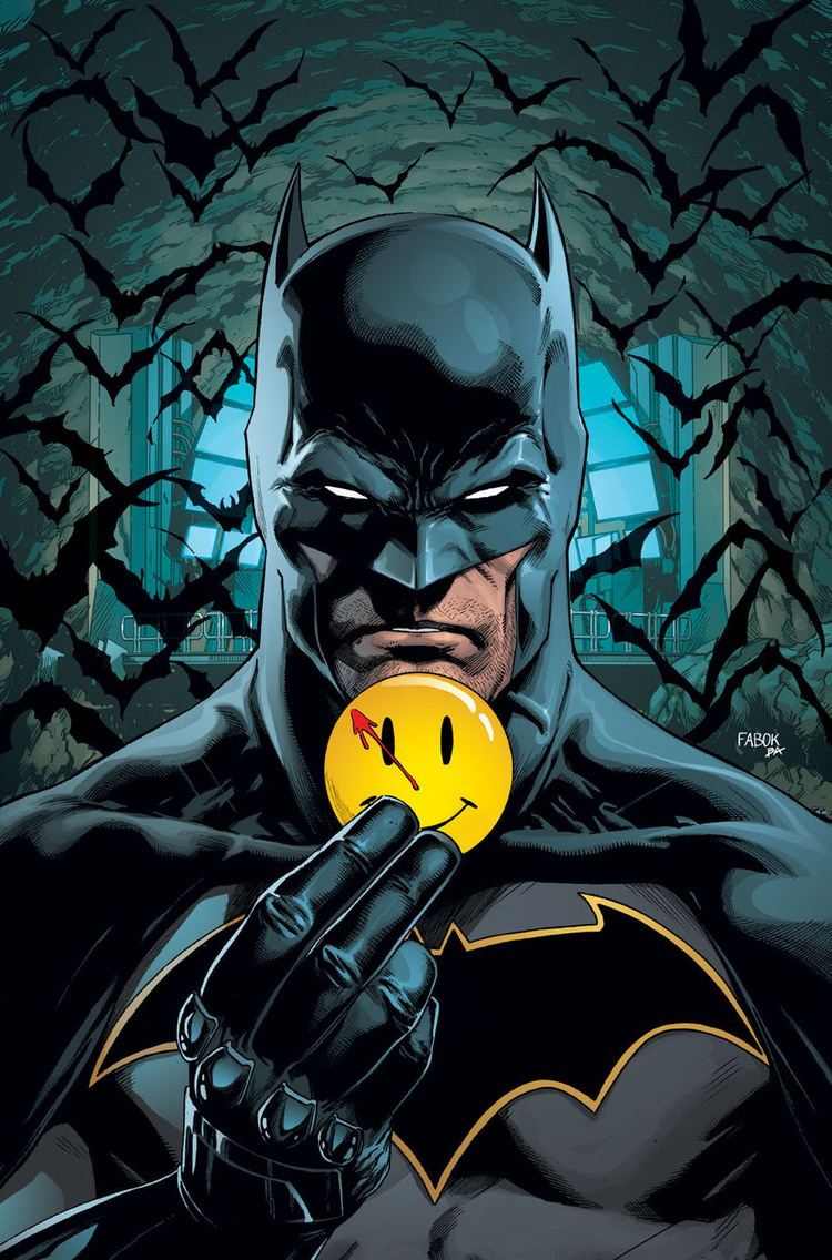 Watchmen BATMAN and THE FLASH Will Watch the WATCHMEN In New Crossover
