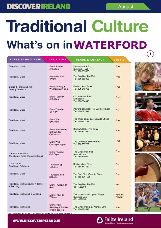 Waterford Culture of Waterford