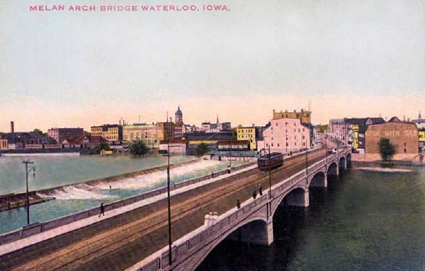 Waterloo, Iowa in the past, History of Waterloo, Iowa