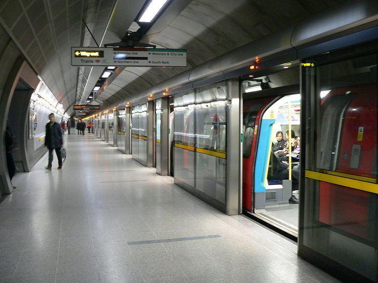 Waterloo tube station