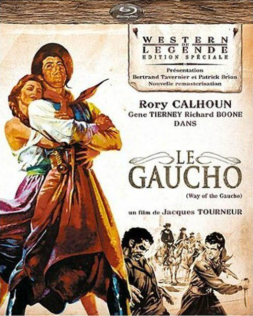 Way of a Gaucho 1952 Jacques Tourneur Rory Calhoun Gene Tierney