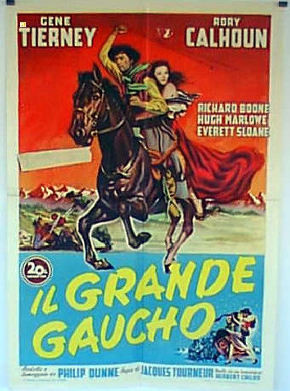 GRANDE GAUCHO IL MOVIE POSTER WAY OF A GAUCHO MOVIE POSTER