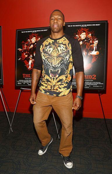 Wayne Barrett (kickboxer) Wayne Barrett Pictures 39The Raid 239 Screening in NYC