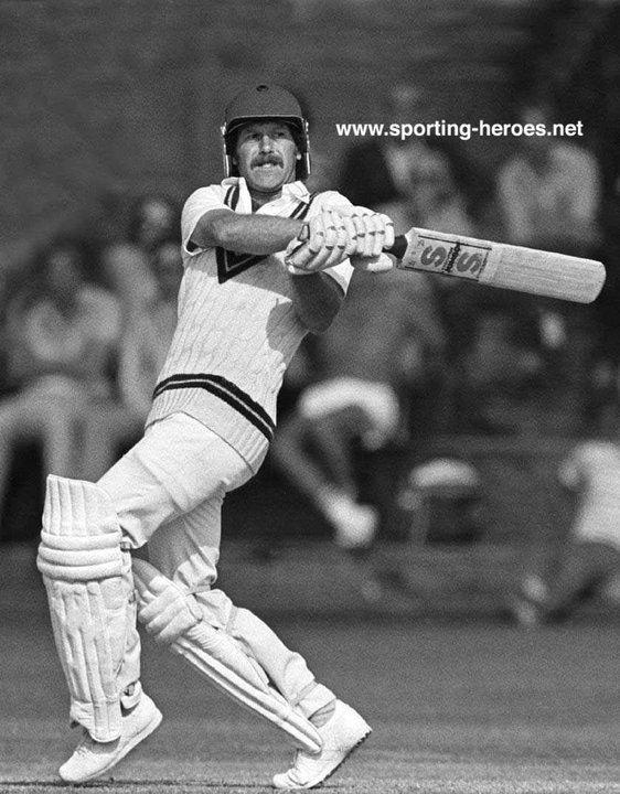 Wayne LARKINS Test Profile 19801990 ENGLAND