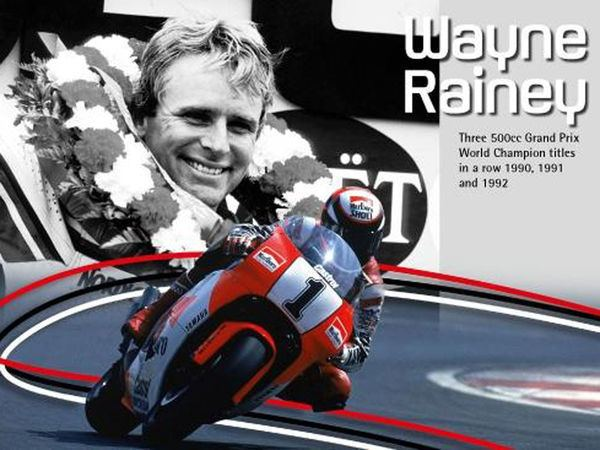 Wayne Rainey Yamaha Racing Legend Wayne Rainey Sport Rider
