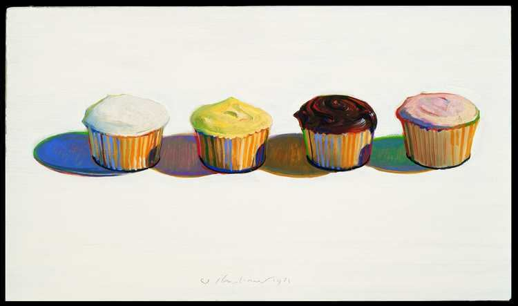 Wayne Thiebaud Copy Of Cupcakes Wayne Thiebaud Lessons TES