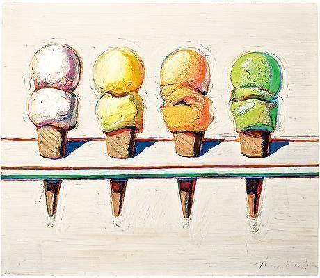 Wayne Thiebaud Iconic artist Wayne ThiebaudA retrospective Patina amp Hue