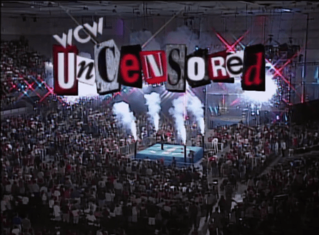 WCW Uncensored The Best And Worst Of WCW Uncensored 1996