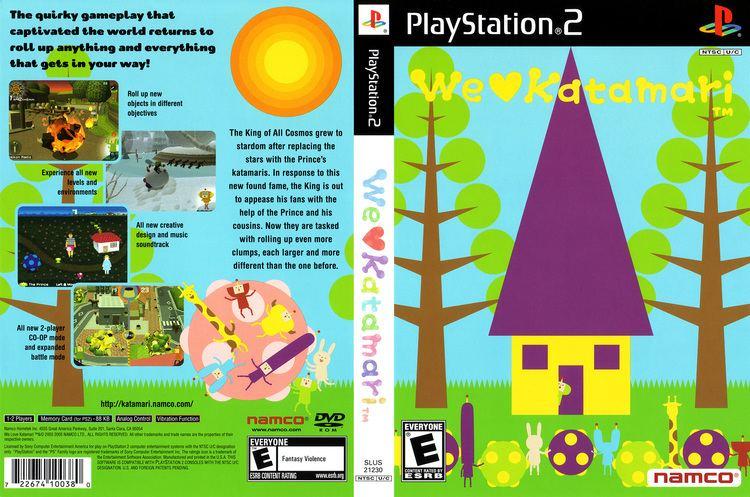 We Love Katamari We Love Katamari Cover Download Sony Playstation 2 Covers The