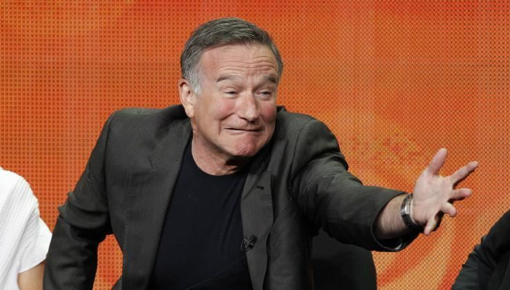 We of the Never Never (film) movie scenes Cast member Robin Williams gestures at a panel for the television series The Crazy Ones during the CBS portion of the Television Critics Association
