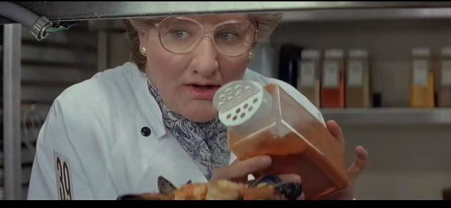 We of the Never Never (film) movie scenes Robin Williams in a scene from the comedy film Mrs Doubtfire Youtube screenshot