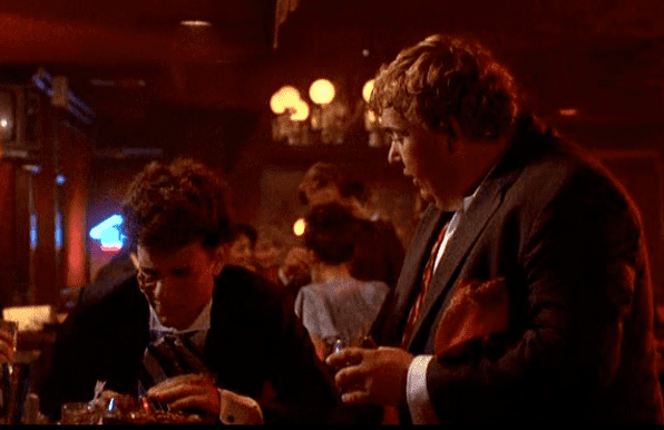 We of the Never Never (film) movie scenes He bangs into the bar spills on other customers and ends up with pretzels on his face and it never comes off as silly it is just true enough that we can