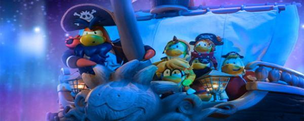 We Wish You a Merry Walrus movie scenes Club Penguin We Wish You a Merry Walrus