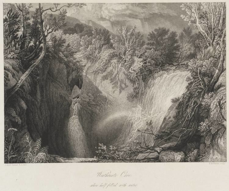 Weathercote Cave Weathercote Cave Joseph Mallord William Turner c1818 Tate
