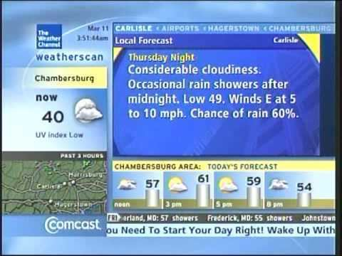 Weatherscan Weatherscan Icon update March 11 2010 345am YouTube