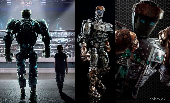 Web Cam (film) movie scenes Real Steel Fantastic 3D Animation Movie from Digital Domain