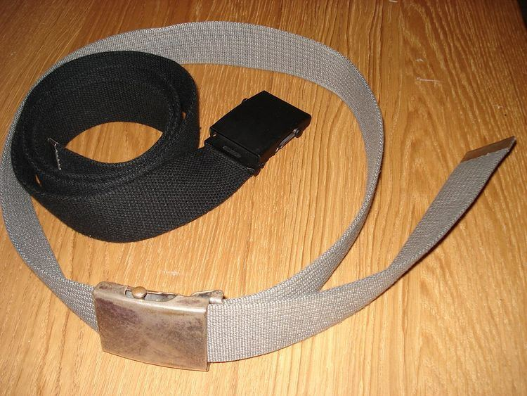 Webbed belt