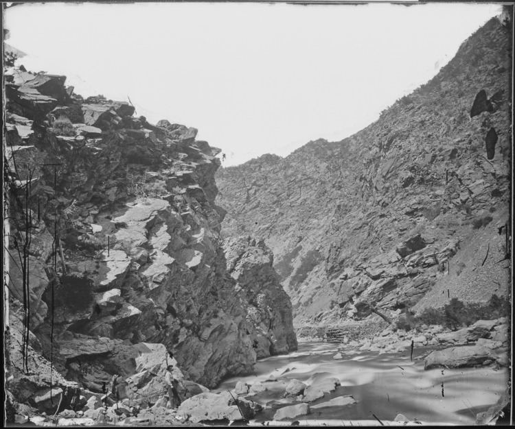 Weber Canyon FileDevils Gate Weber Canyon Utah NARA 519459jpg