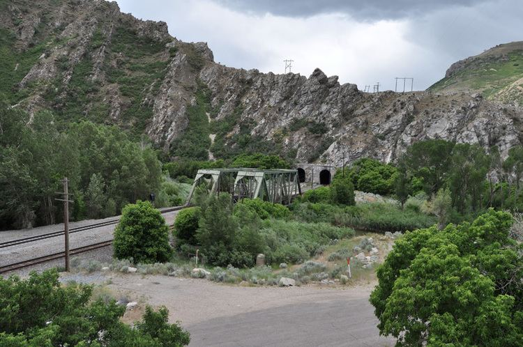 Weber Canyon Weber Canyon Tunnel Number Three