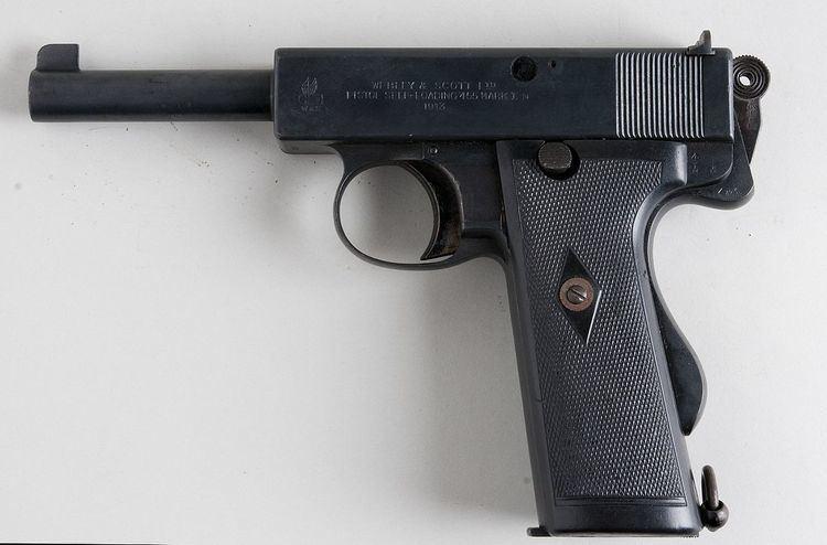 Webley Self-Loading Pistol