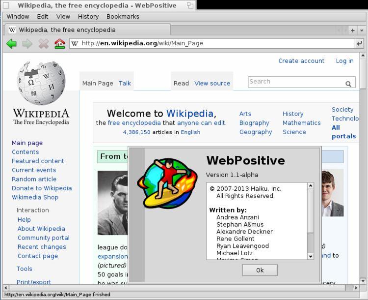 WebPositive