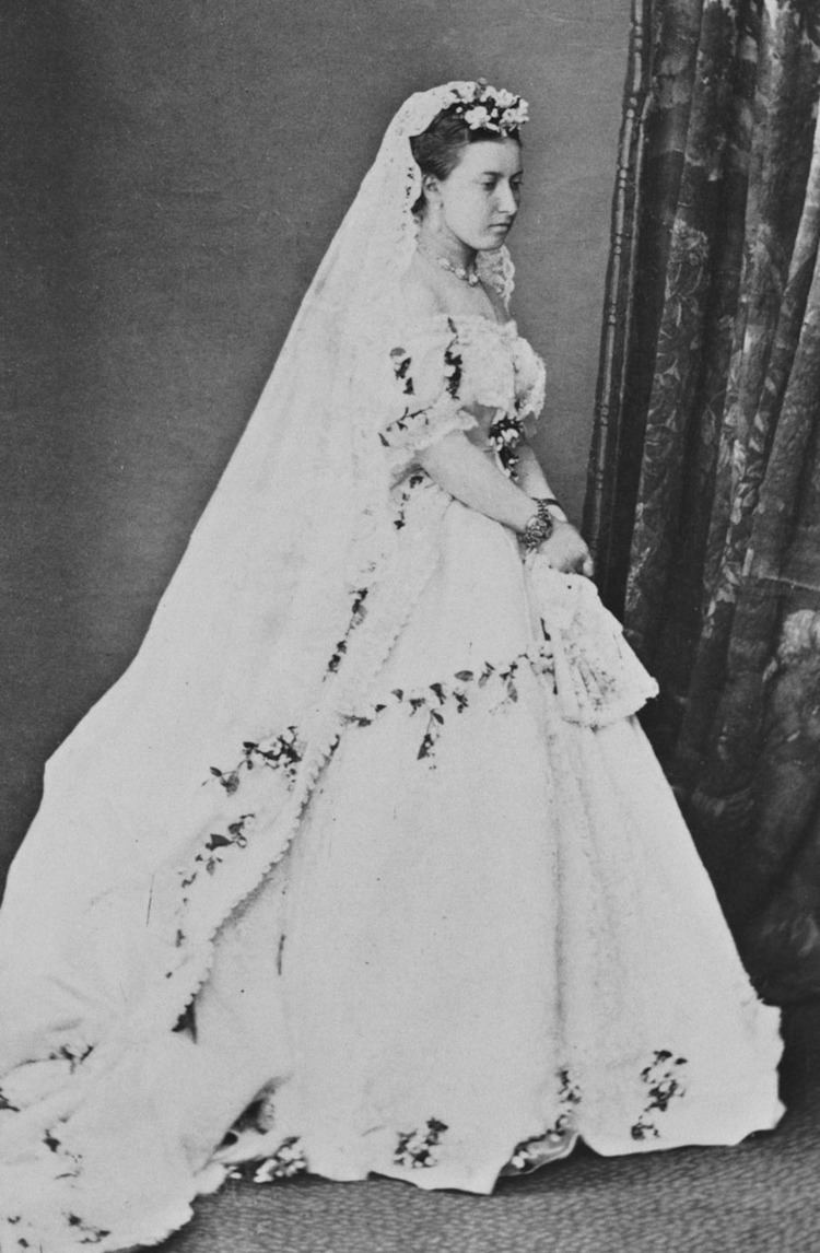 Wedding dress of Princess Helena