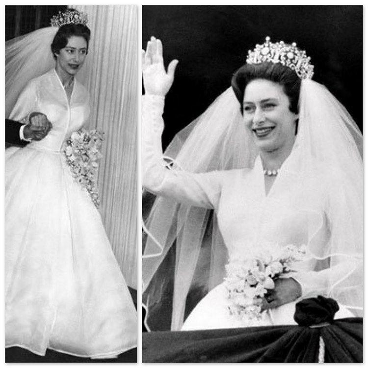 Wedding dress of Princess Margaret wedding 1960 princess Margaret ROYAL WEDDING Pinterest Wedding