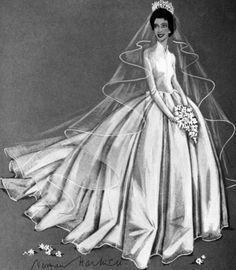 Wedding dress of Princess Margaret httpssmediacacheak0pinimgcom236x0c09a5