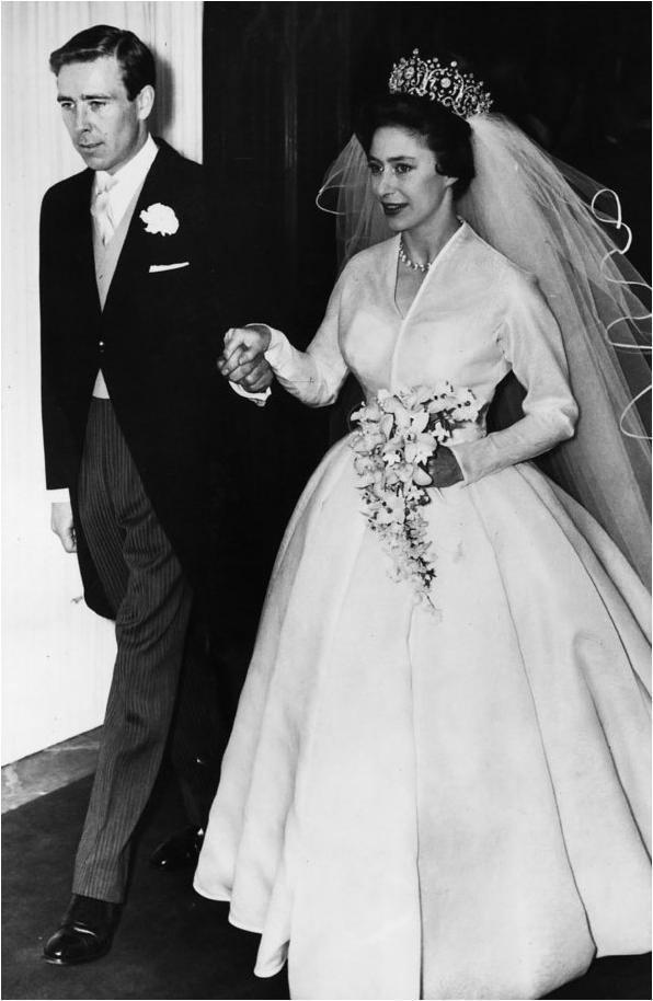 Wedding dress of Princess Margaret The Royal Order of Sartorial Splendor Readers Top 10 Wedding Gowns