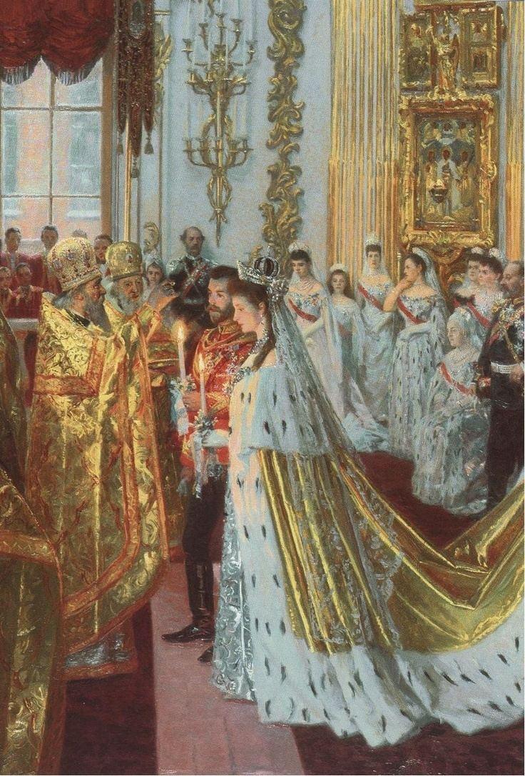 Wedding of Nicholas II and Alexandra Feodorovna httpsuploadwikimediaorgwikipediacommonsaa
