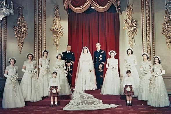Wedding of Princess Elizabeth and Philip Mountbatten, Duke of Edinburgh November 20 1947 Wedding of Princess Elizabeth and Philip