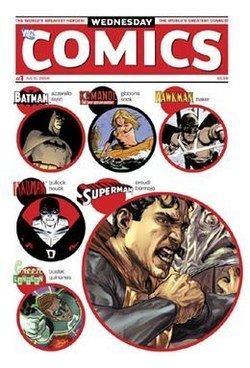 Wednesday Comics httpsuploadwikimediaorgwikipediaenthumb8
