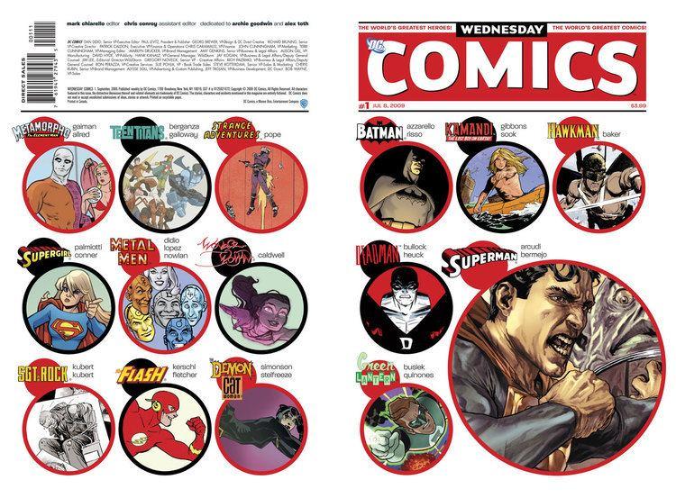 Wednesday Comics wednesday comics DC
